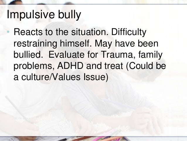 bullying and big issue Get an answer for 'why has bullying become such a problem' and find homework help for other bullies, child psychology questions at enotes.