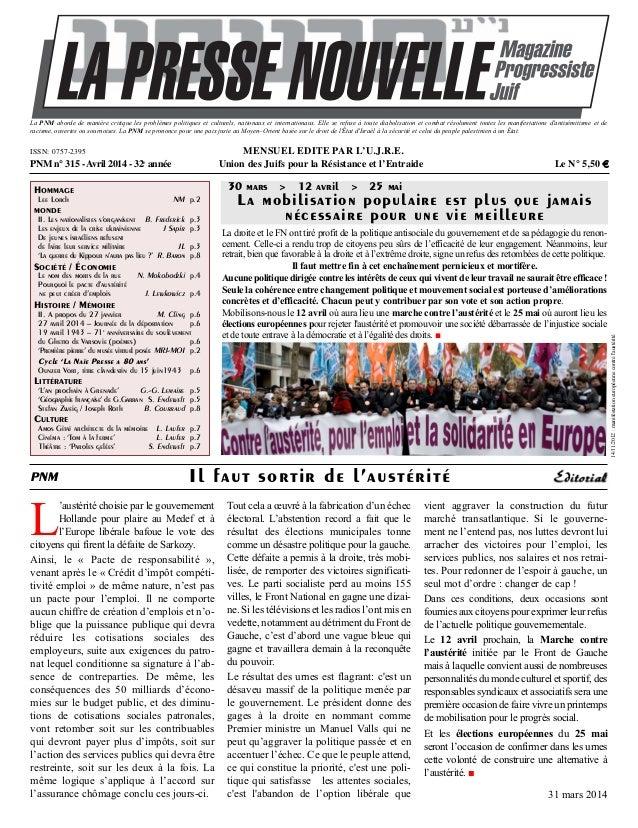 L 'austérité choisie par le gouvernement Hollande pour plaire au Medef et à l'Europe libérale bafoue le vote des citoyens ...