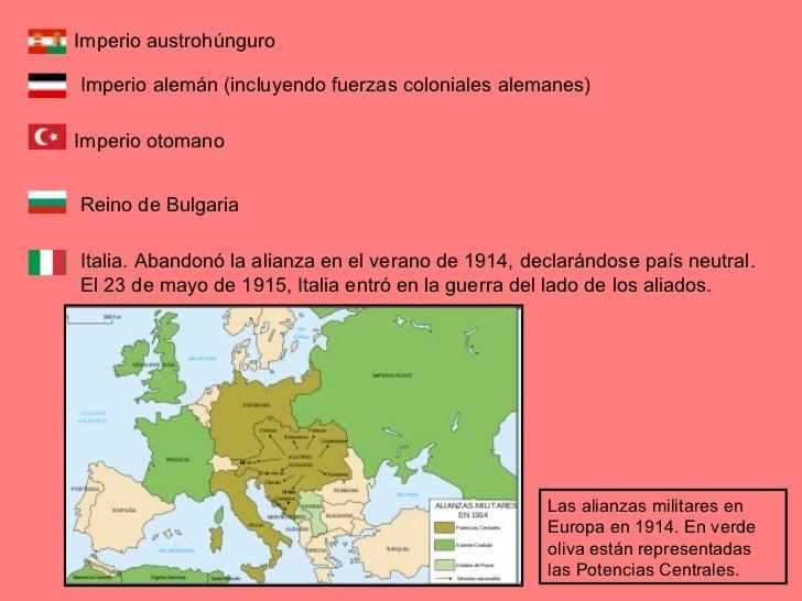 Europa en la Primera Guerra Mundial - Wikipedia, la