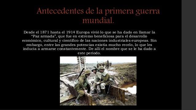 La primera guerra mundial Slide 3