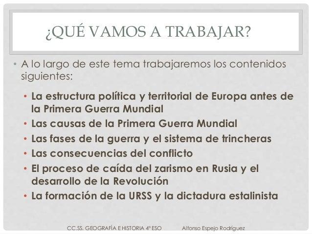 LA PRIMERA GUERRA MUNDIAL Y LA REVOLUCIÓN RUSA Slide 2