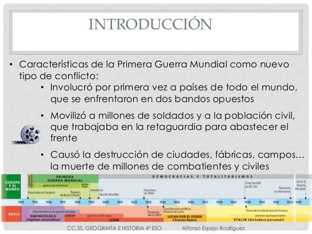 LA PRIMERA GUERRA MUNDIAL Y LA REVOLUCIÓN RUSA Slide 3