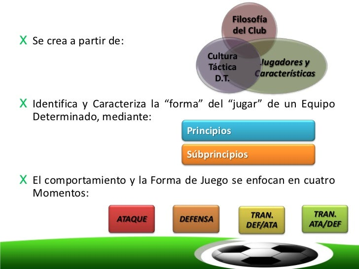 Filosofía                                               del Clubx   Se crea a partir de:                                  ...