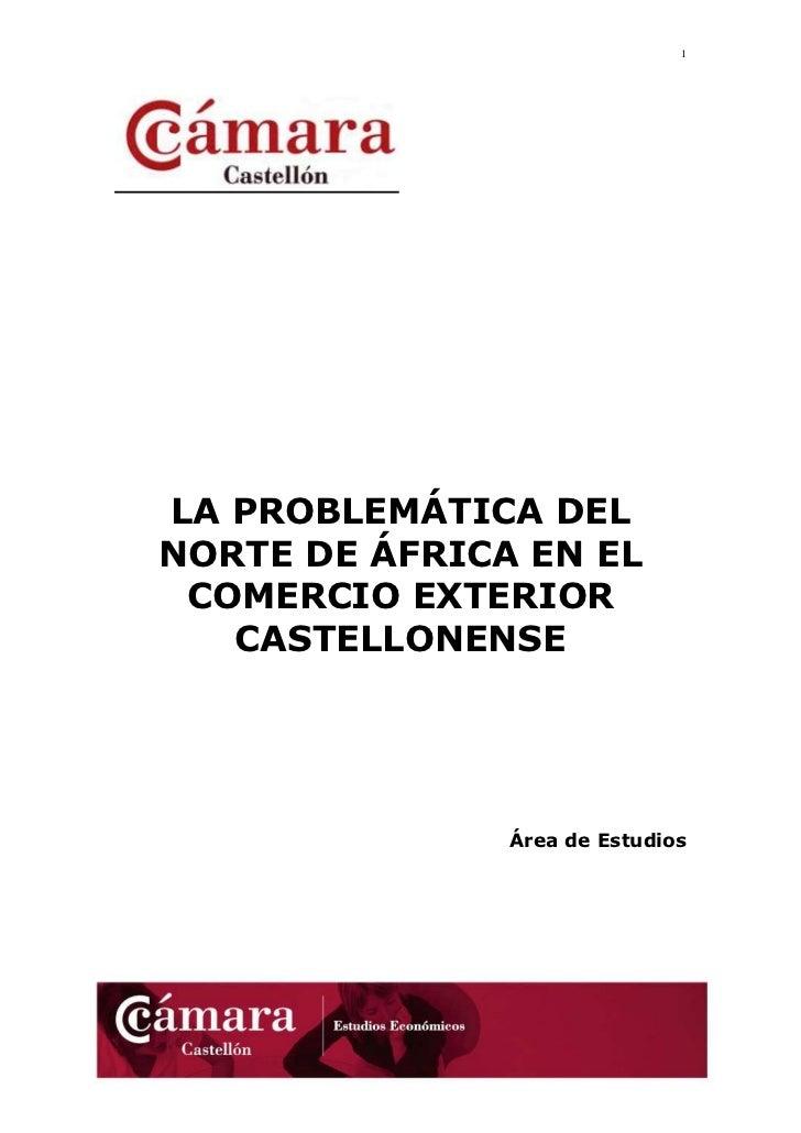 La problemática del norte de África en el comercio exterior castellonense