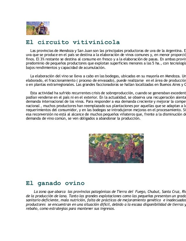 Circuito Vitivinicola : La producción frutícola del alto valle