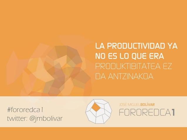 #fororedca1 twitter: @jmbolivar