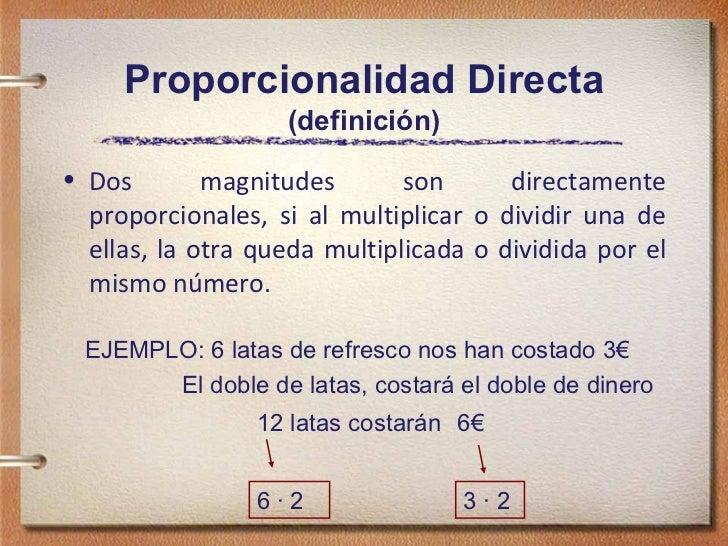 Image result for proporcionalidad directa