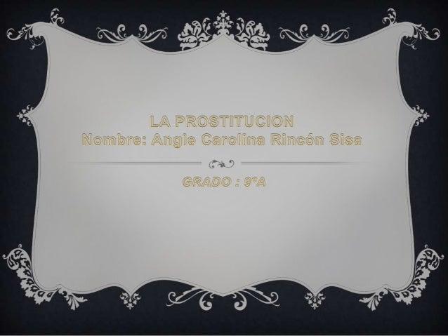 La prostitución se define como el acto de participar en actividadessexuales a cambio de dinero o bienes. Aunque esta activ...