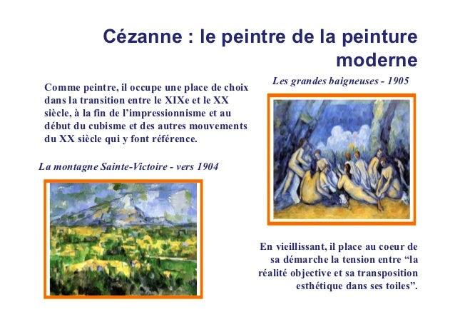 Cézanne : le peintre de la peinture                                       moderne                                         ...