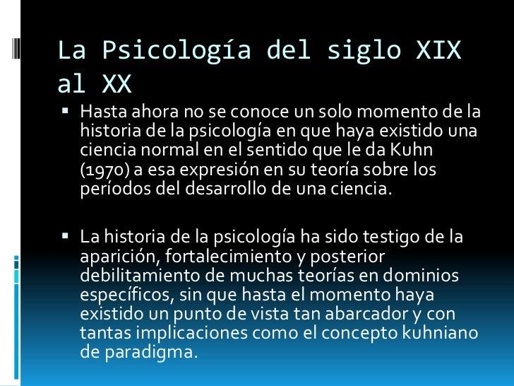 La psicologa del siglo xix al xx Slide 3