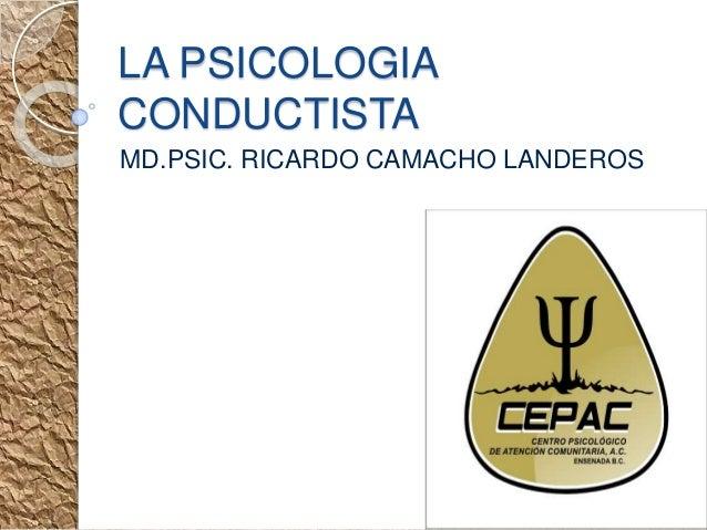 Psicologia Conductual