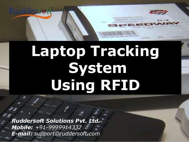 Laptop Tracking System Using Rfid