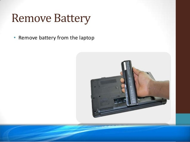 Laptop Battery Issue – Plugged In but not Charging