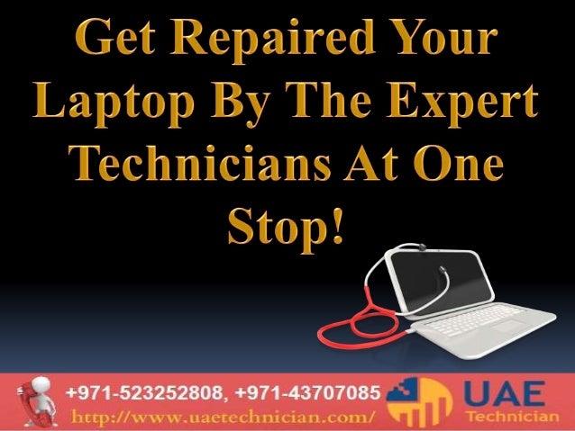 Laptop Repair Services in Dubai by expert technicians