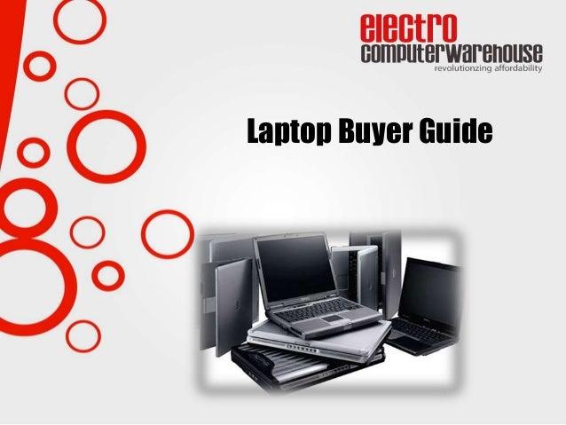 Laptop Buyer Guide