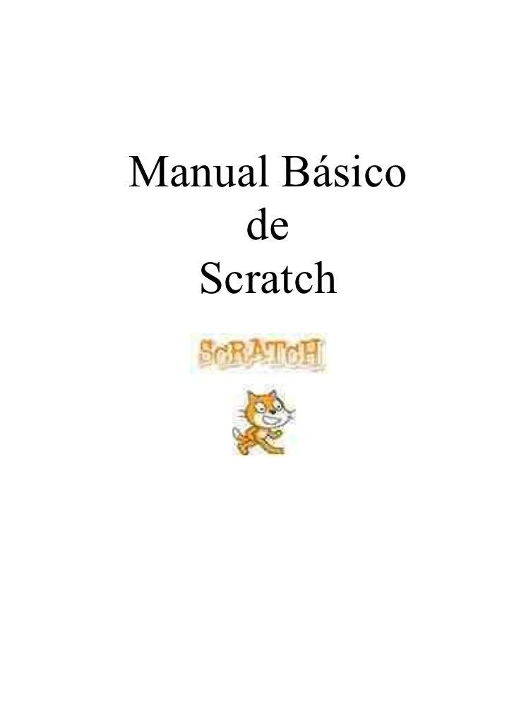 Manual Básico    de  Scratch