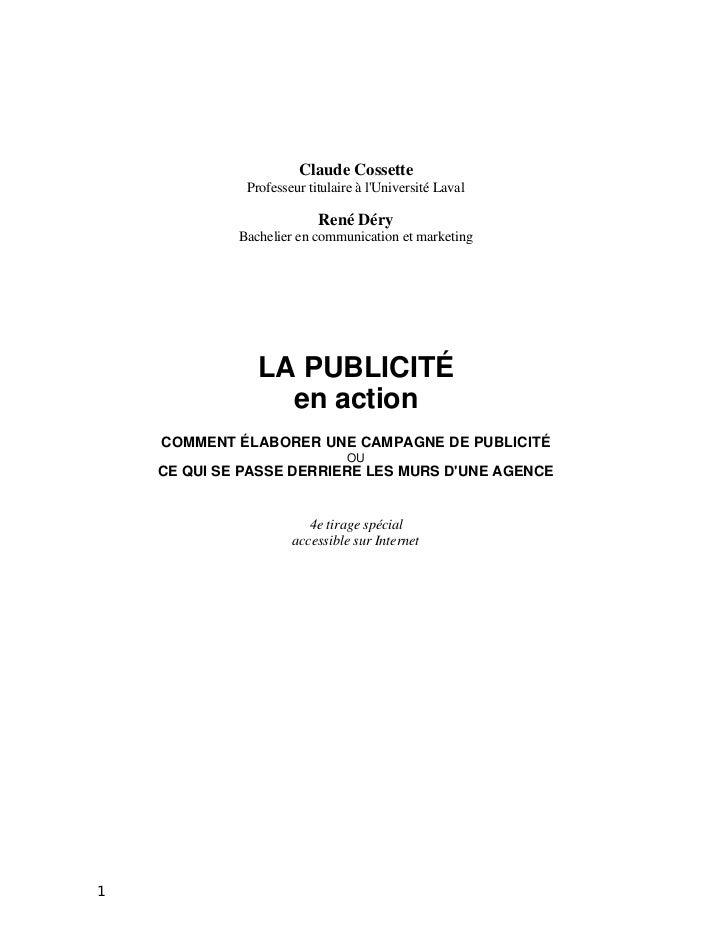 Claude Cossette              Professeur titulaire à lUniversité Laval                           René Déry             Bach...