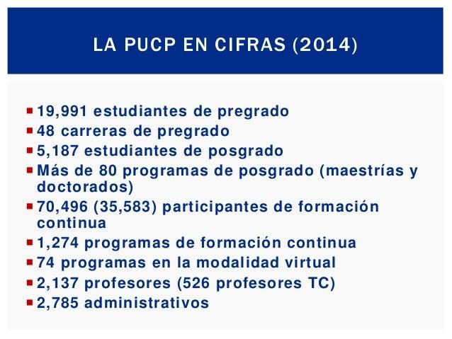 La PUCP y su visión al 2030 Slide 3