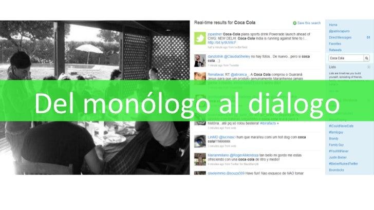 Del monólogo al diálogo