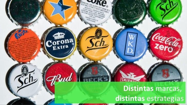 Distintas  marcas,  distintas  estrategias