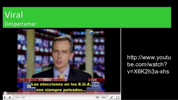 Viral Desparramar http://www.youtube.com/watch?v=X6K2h3a-xhs