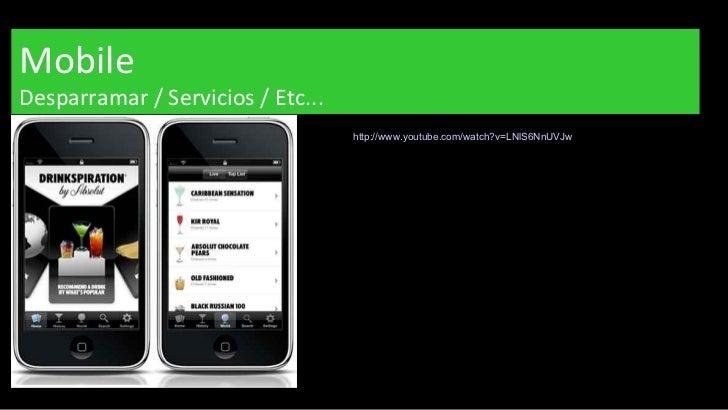 Mobile Desparramar / Servicios / Etc... http://www.youtube.com/watch?v=LNlS6NnUVJw