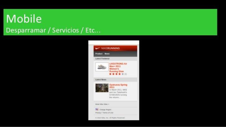 Mobile Desparramar / Servicios / Etc...