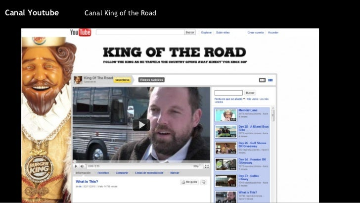 Canal King of the Road Canal Youtube