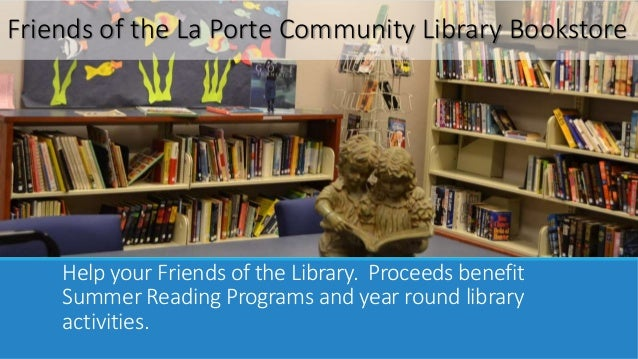 Laporte branch library virtual tour for Laporte library
