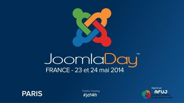 Présentation Jean-Charles GAUTARD  Formateur Joomla!  Consultant SEM (Seo / Sea) & SMO, Inbound Marketing  Fondateur No...