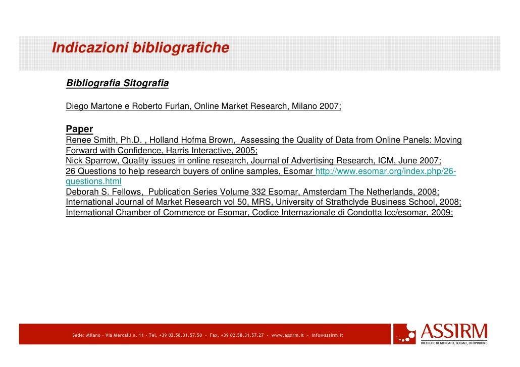 ricerche bibliografiche online dating