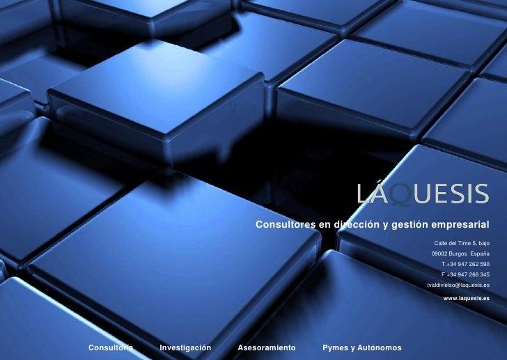 Consultores en dirección y gestión empresarial                                                                    Calle de...