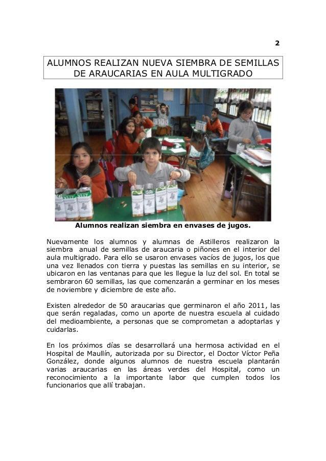 La quilla ecologica  agosto del 2012 Slide 2