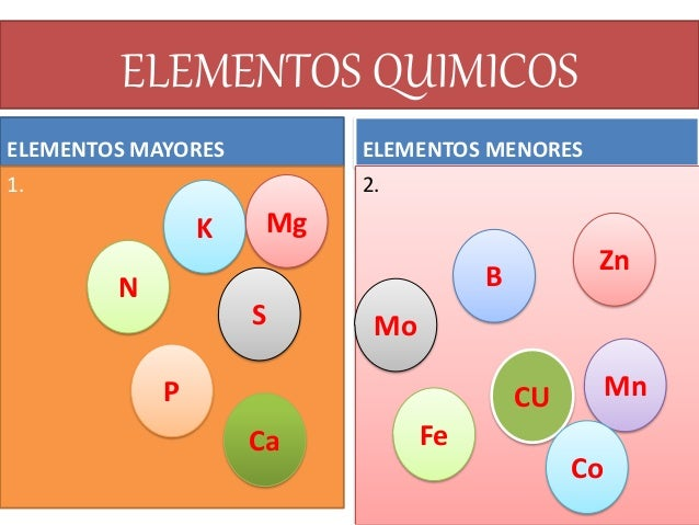 La quimica de los suelos for Componentes quimicos del suelo