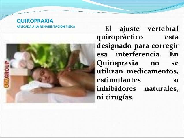 La quiropraxia en la terapia física.ppt2012 Slide 2