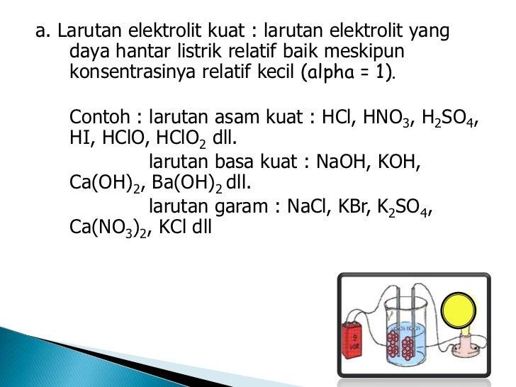 Lar Elektrolit Non Elektrolit