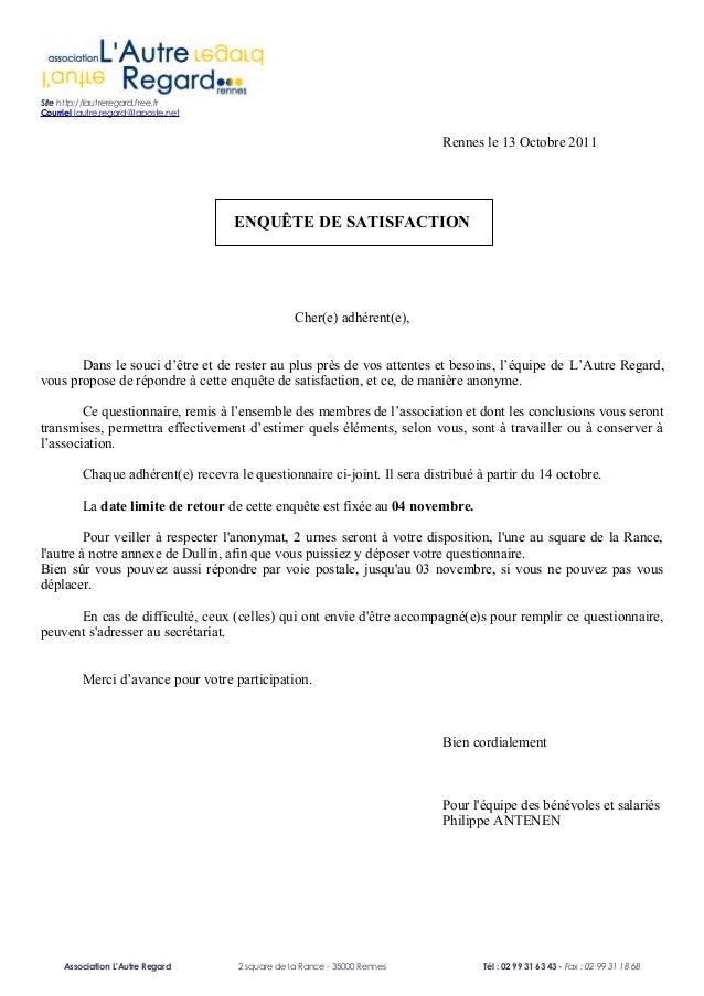 Rapport d 39 activit 2011 - Enquete de satisfaction pret a porter ...