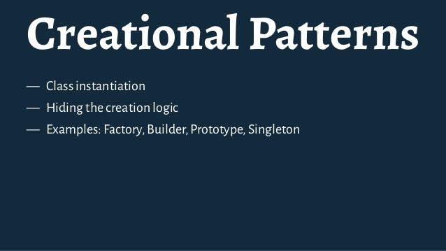 Structural Patterns — Composition between objects — Usages of interfaces,abstract classes — Examples: Adapter,Bridge,Decor...