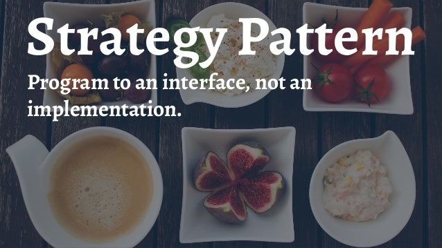 Provider Pattern Sets a pattern for providing some essential service