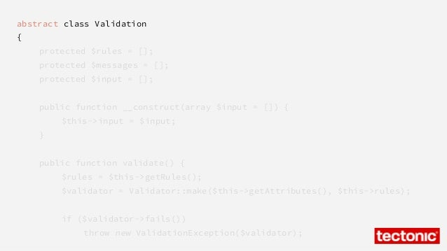 Comprehensive Validation with Laravel 4