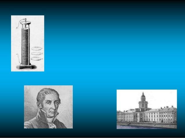 La Radio• 1801 El físico italiano Alejandro Volta presenta ante la Academia de    Ciencias de París su invento       llama...