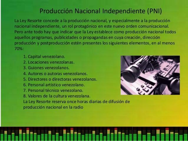 Producción Nacional Independiente (PNI) 1. Capital venezolano. 2. Locaciones venezolanas. 3. Guiones venezolanos. 4. Autor...