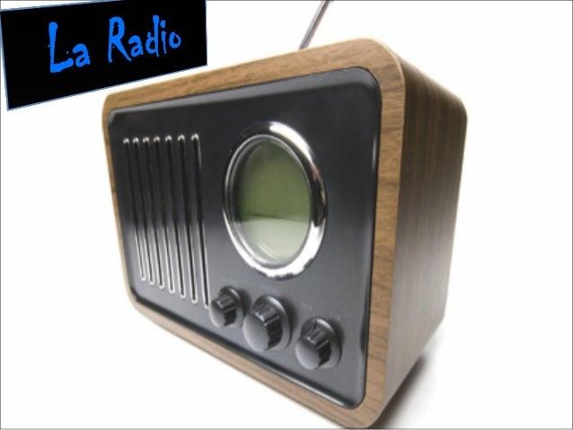 ¿Qué es la radio?