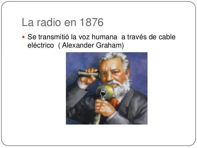 La radio diapositiva Slide 2