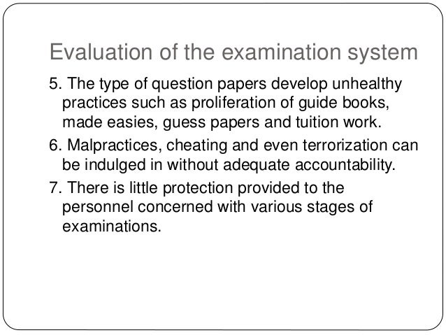 essay on pakistan examination system 1 topic: examination system in pakistan -a legal& policy aspect (paper  in a  subject (2) instrument of assessment can be log essay or mixed.
