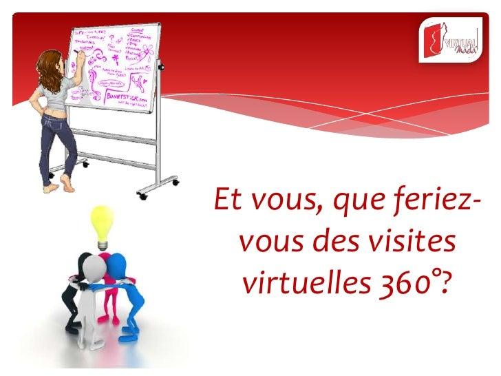 Et vous, que feriez-  vous des visites  virtuelles 360°?