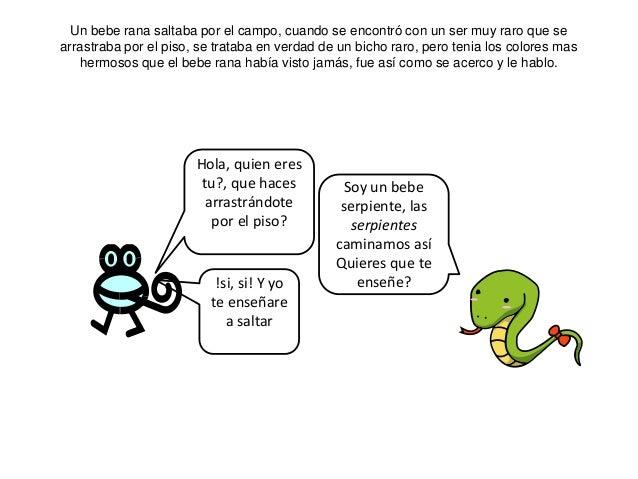 La rana y la serpiente