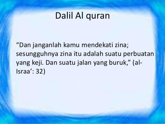 Zina In Quran Gambar Islami