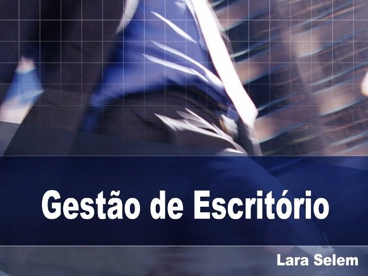 Gestão de Escritório Lara Selem