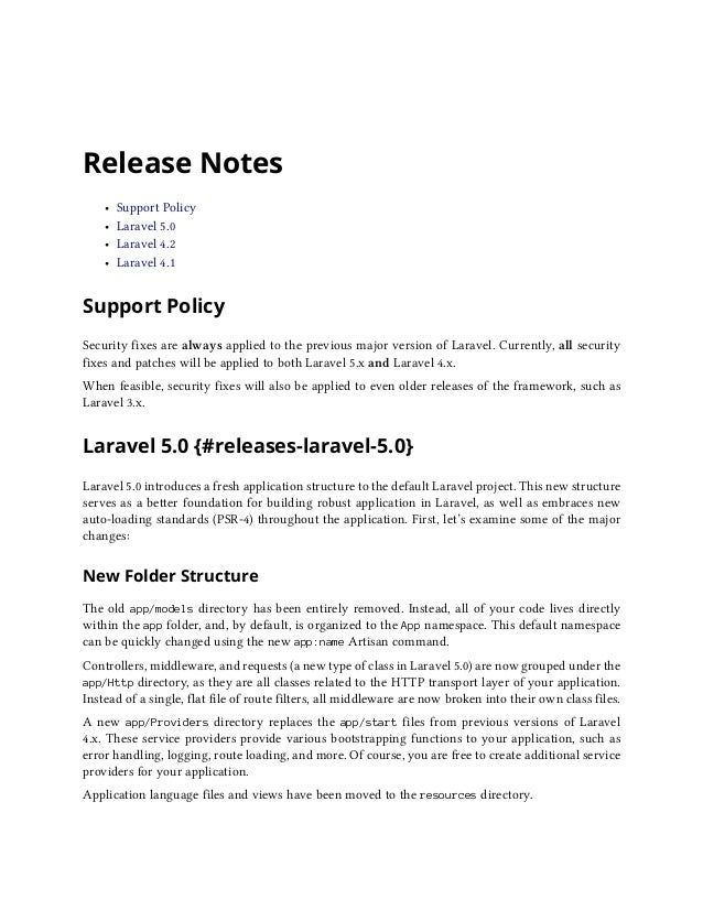 Laravel 5 documention guide by chayon shaah web developer 16 fandeluxe Image collections